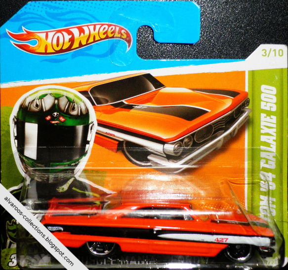 HotWheels collection 2012 - Custom '64 Ford Galaxie 500