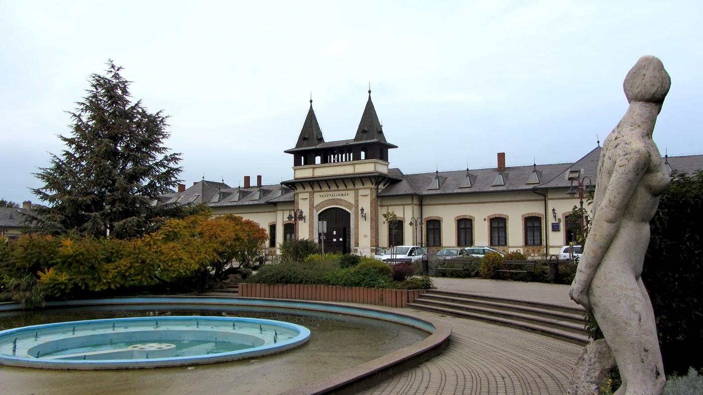 Siofok Hungary  city photos gallery : railway station in siofok hungary october 2013