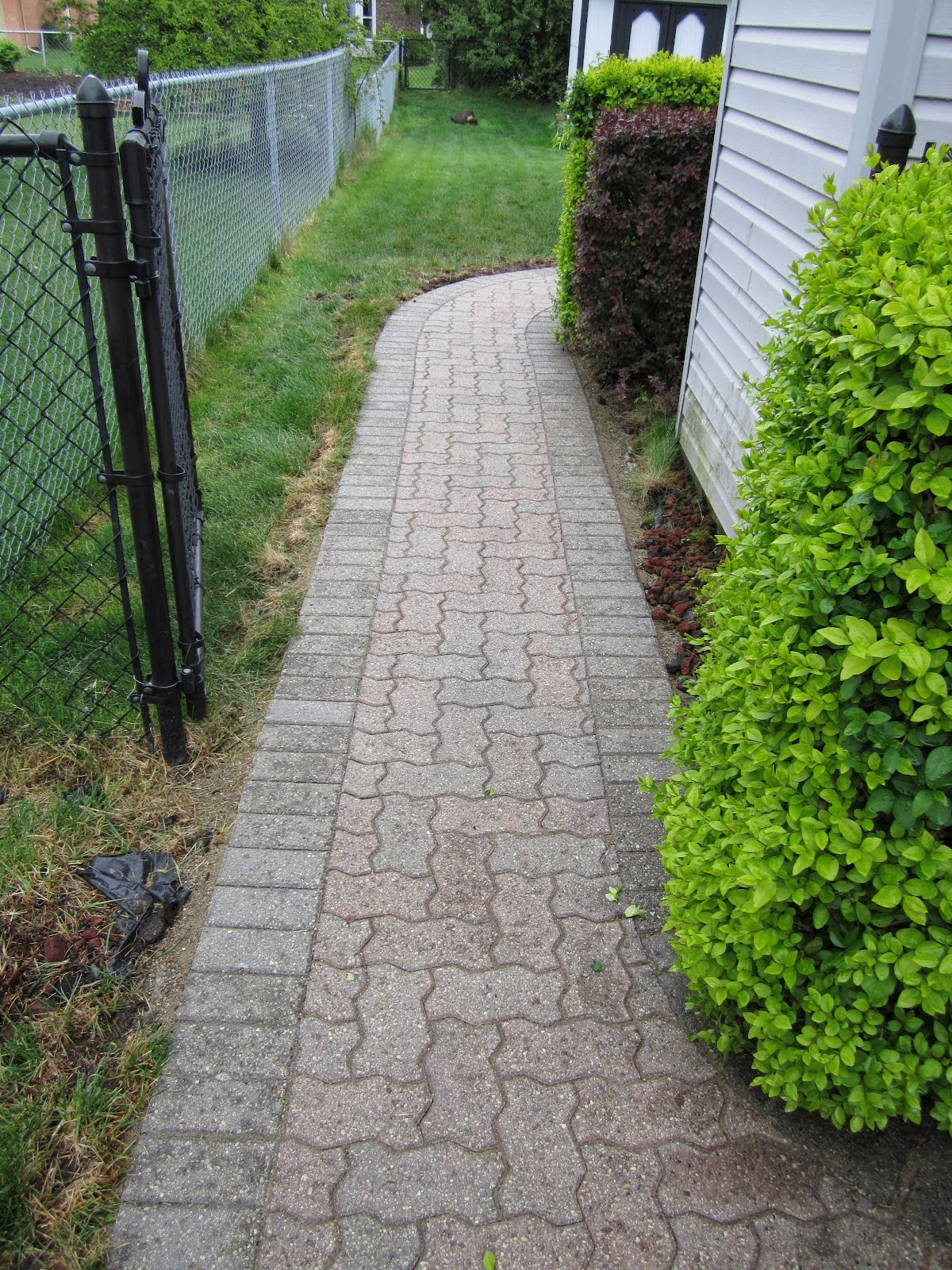 Nice Design paving stone walkway ideas