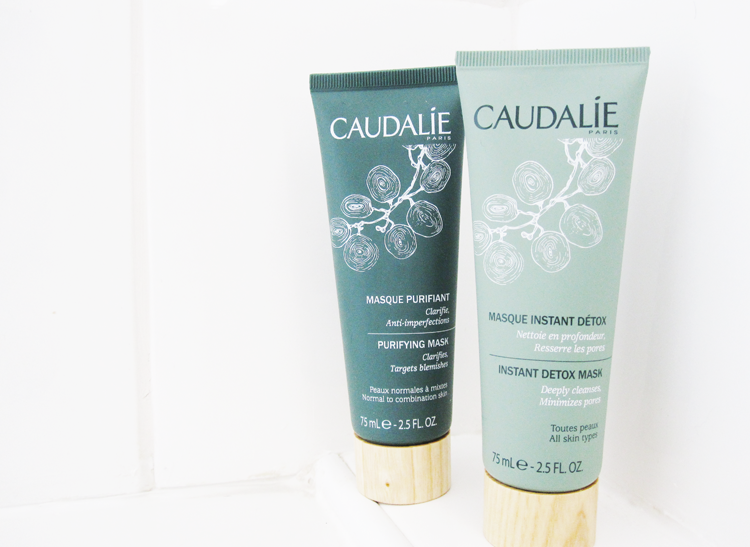 Caudalie Instant Detox & Purifying Masks review