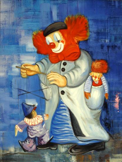 Murales infantiles pintados a mano for Cuadros infantiles al oleo