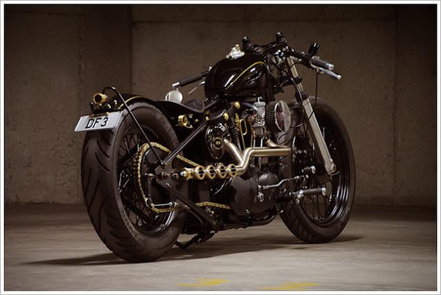 Harley Ironhead Sporty độc và đẹp