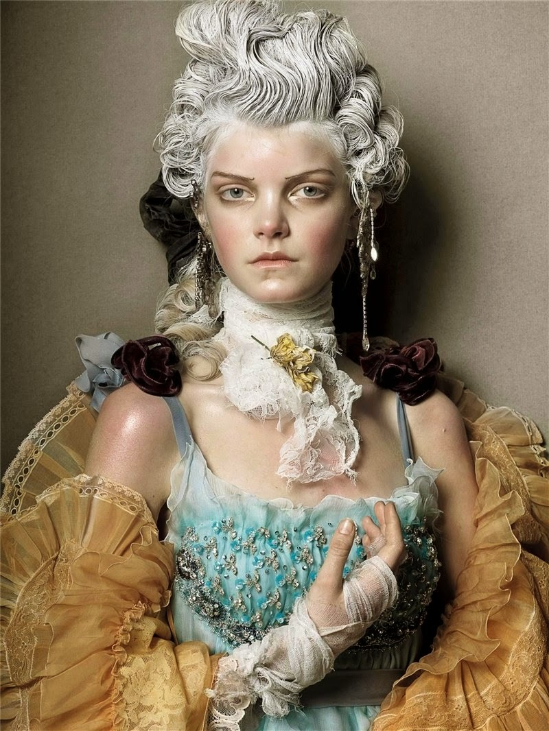 Couture Magic by Steven Meisel for Vogue Italia Couture ...