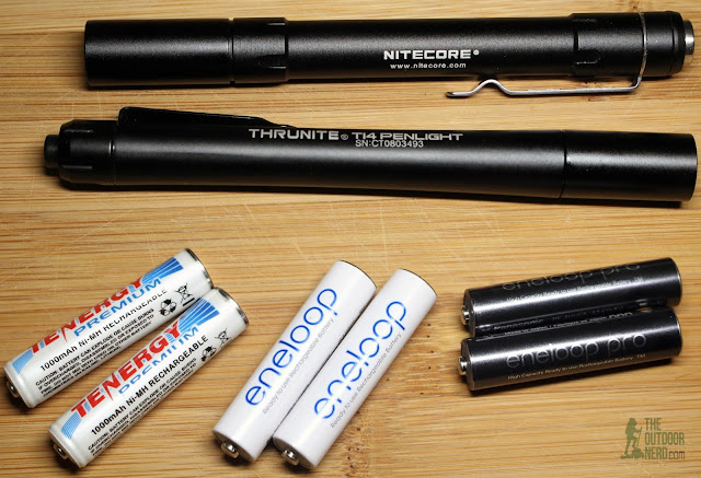 Thrunite Ti4 2xAAA Flashlight / Penlight - Product View 1