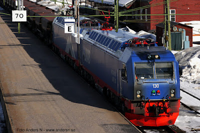 Malmtåg, IORE, lok, train