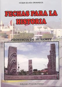 PRIMER CALENDARIO CIVICO-CULTURAL Y RELIGIOSO DE LA PROVINCIA DE HUARMEY