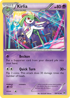 Kirlia BREAKthrough Pokemon Card