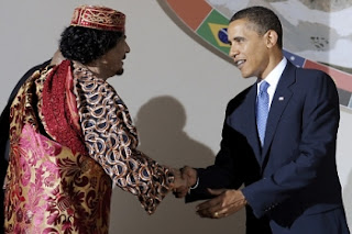 most hated dictator Gaddafi obama