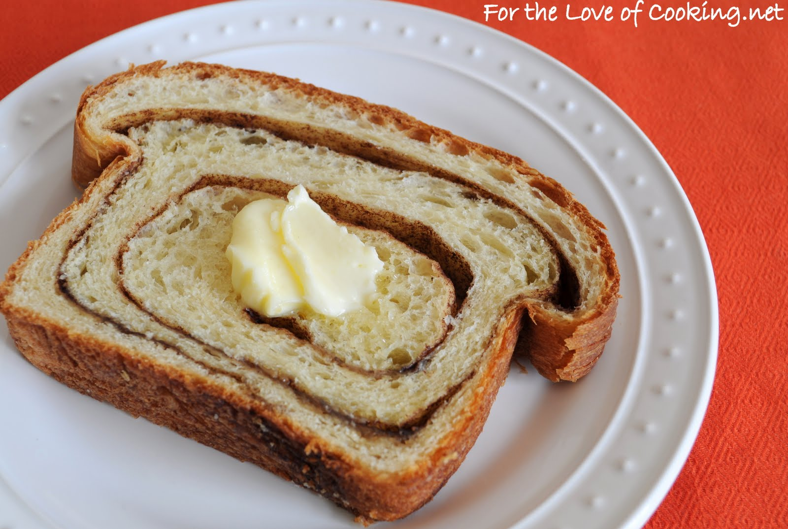 Cinnamon Swirl Bread | For the Love of Cooking