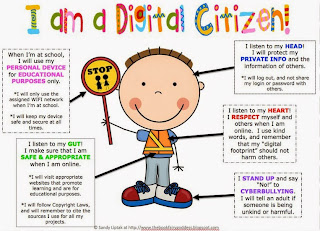 digital citizen poster
