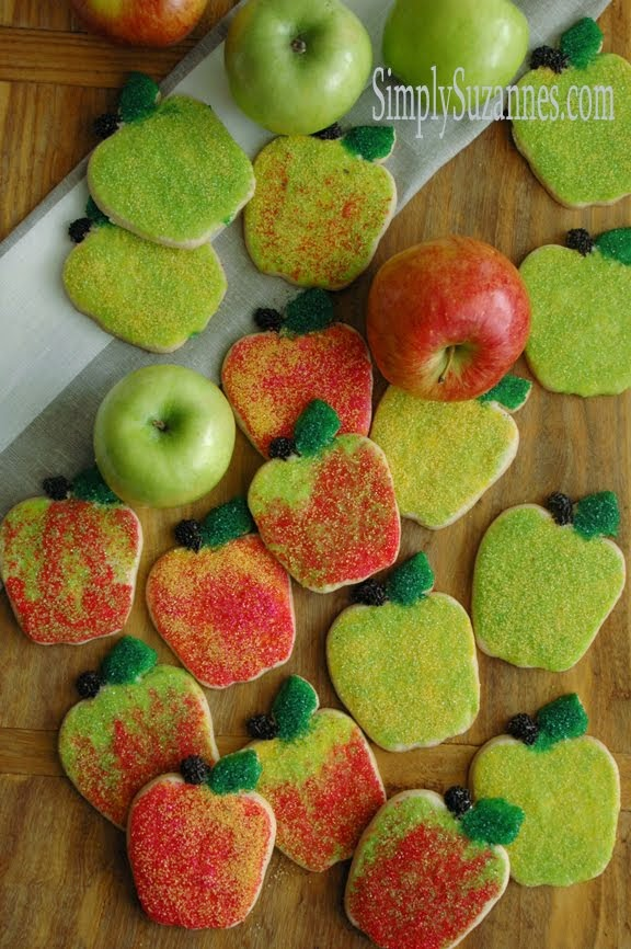 cinnamon apple sugar cookies