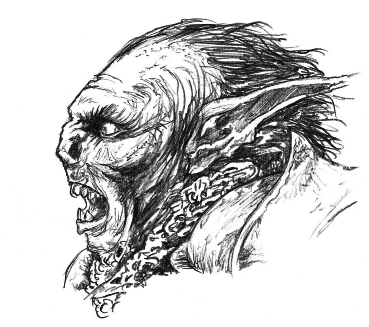 Lord of the rings sketches   Jorge Madejon Portfolio