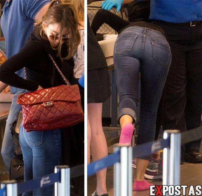 Sofia Vergara no aeroporto LAX, em Los Angeles - 12 de Outubro de 2012