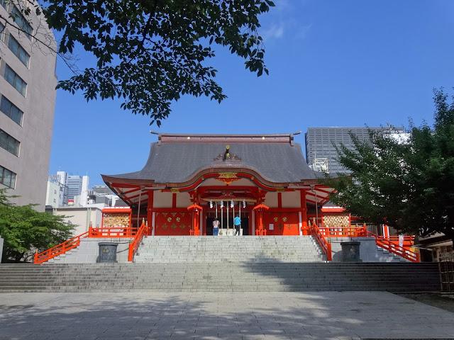 花園神社,本殿,新宿〈著作権フリー無料画像〉Free Stock Photos