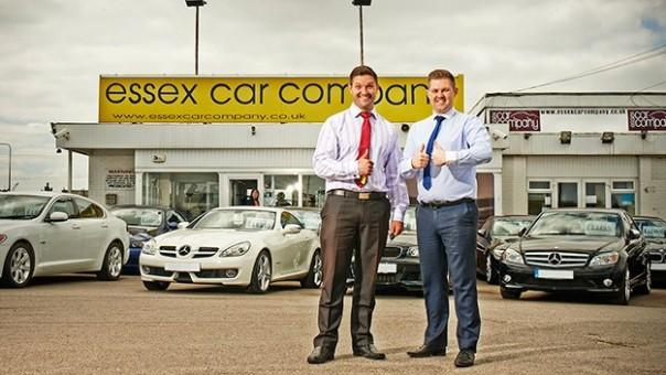 Car dealers used essex