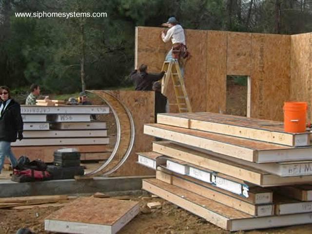 Construcción de una casa con sistema de paneles SIP