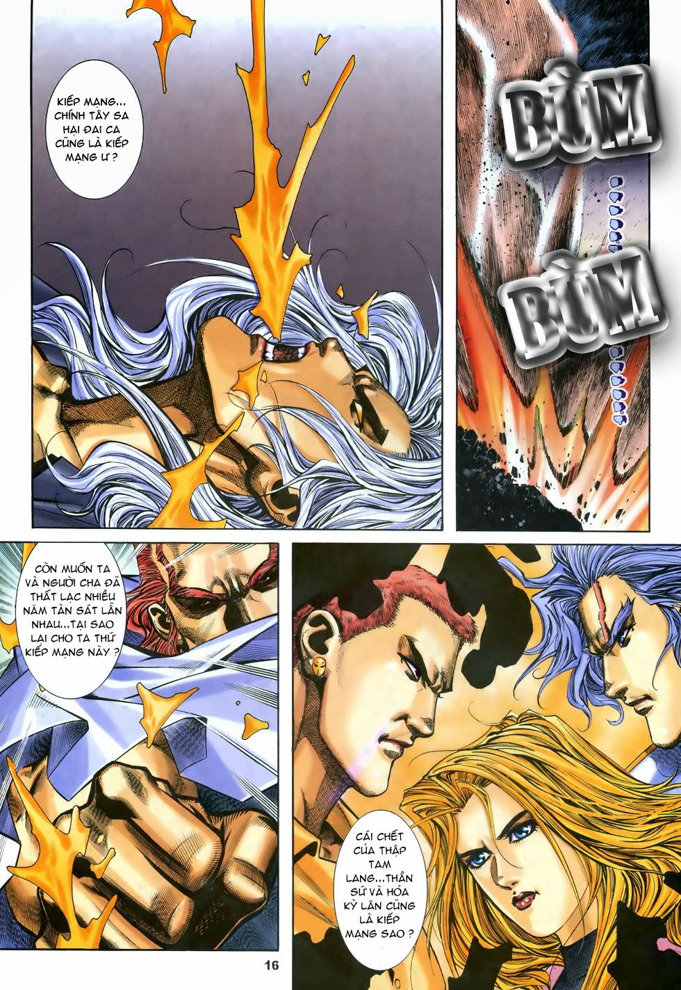 X Bạo Tộc chap 68 - Trang 17