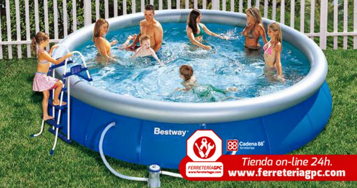 El blog de piscinas para tu jard n sin Piscina portatil pequena