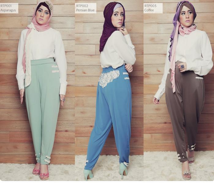10 Contoh Gambar Model Baju Muslim Artis Risty Tagor