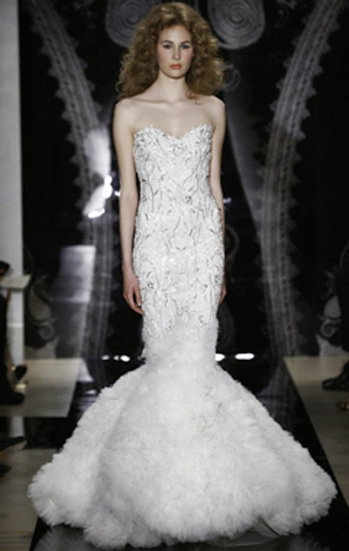 2014 Bridal Spring Collection from Reem Acra