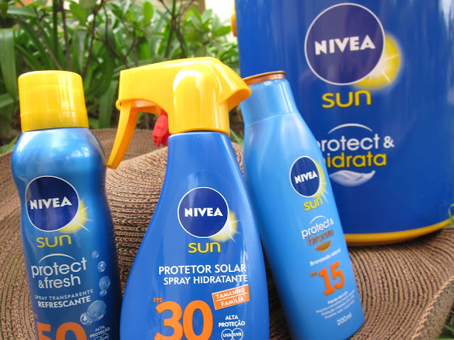 protetores solares nivea