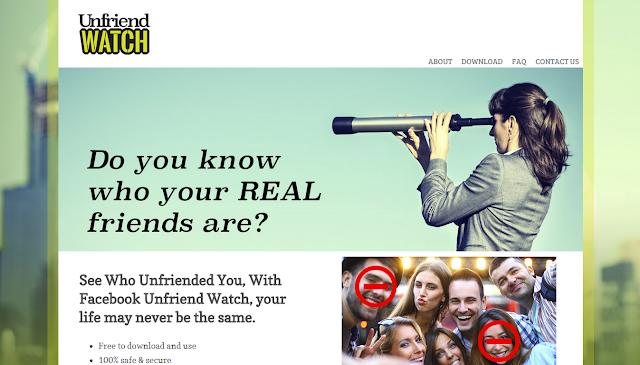 Unfriend Watch - Virus