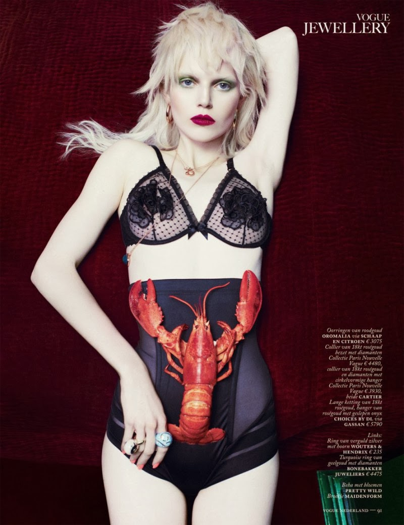 Ola Rudnicka HQ Pictures Vogue Poland Magazine Photoshoot March 2014 By Boe Marion