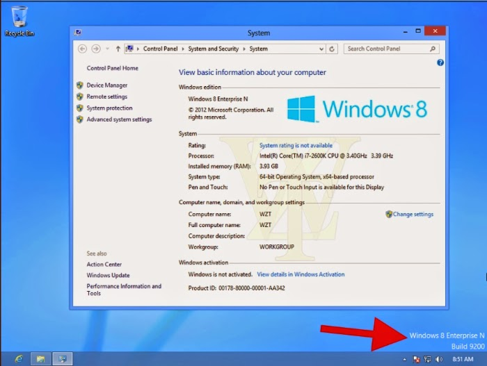 microsoft windows 8 permanent activator for w8 build 9200