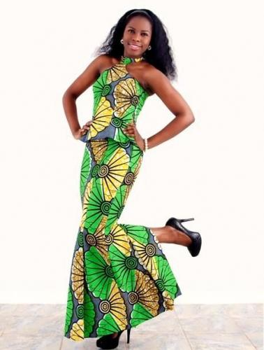 Simple Ankara Styles Gown Dezango Fashion Zone