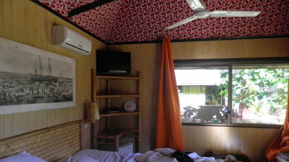 Intérieur de la chambre du Kaveka