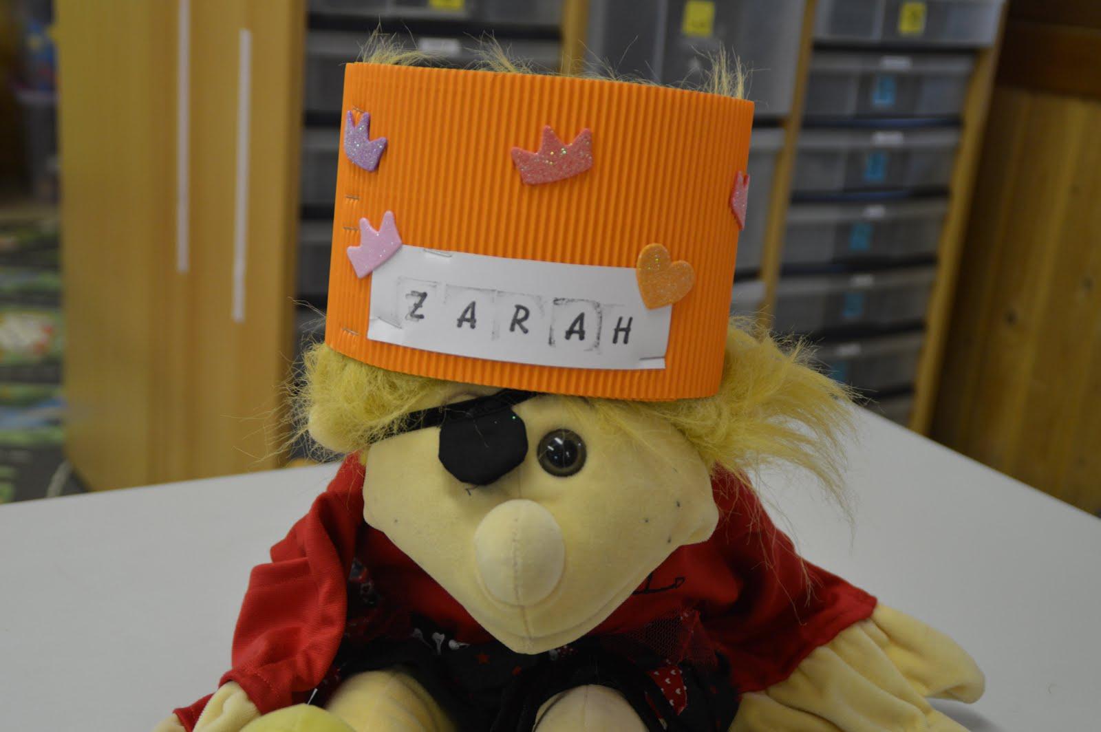 Zarah is 4!!