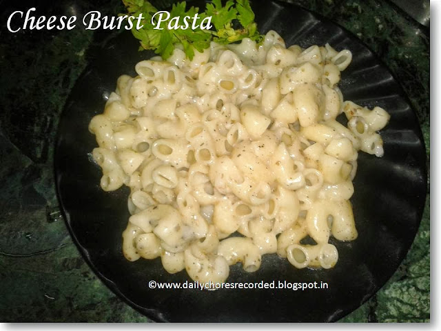 Cheese Burst Pasta