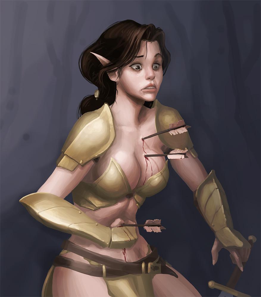 Hot sexy black woman