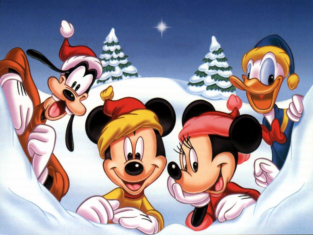 christmas mickey mouse head