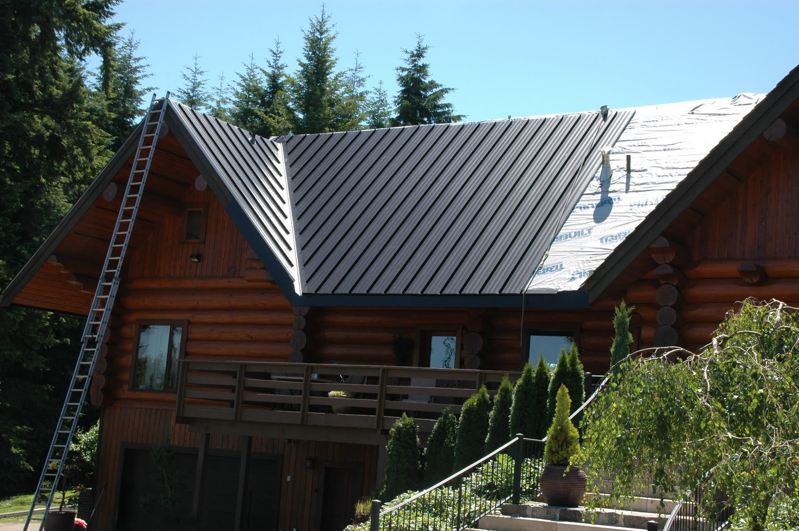 I Love Metal Roofs Work Of Art In Progress