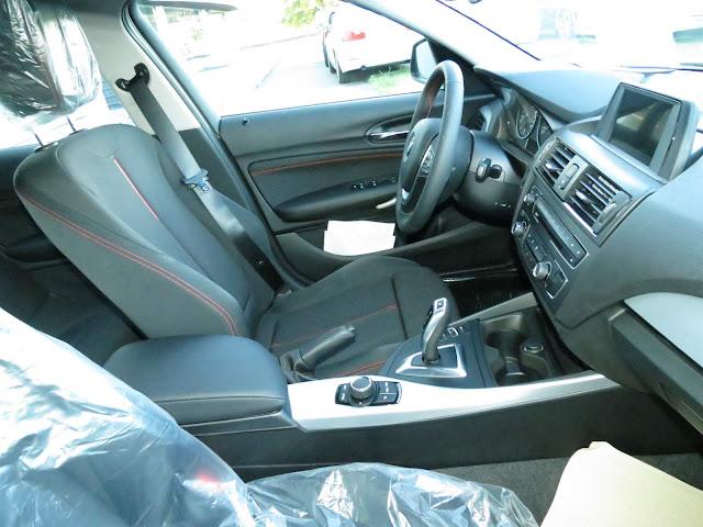 BMW 120i 2015 Sport  -  interior