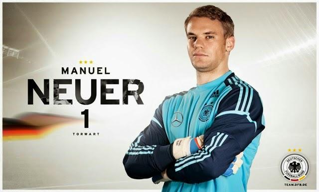 Manuel Neuer Jadi Olahragawan Terbaik Dunia & Eropa 2014