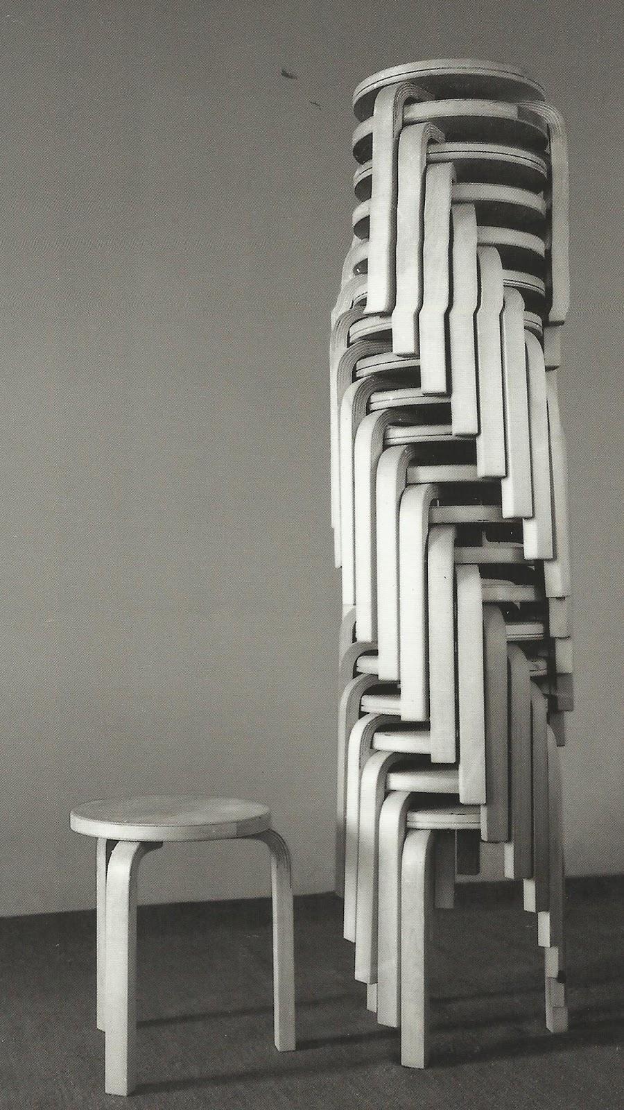 Alvar aalto la peque a escala mobiliario y decoraci n for Alvar aalto muebles