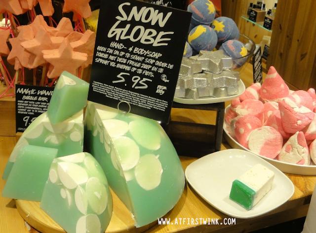 LUSH snow globe