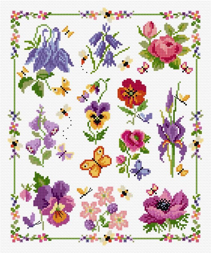 SAL - Floral Sampler