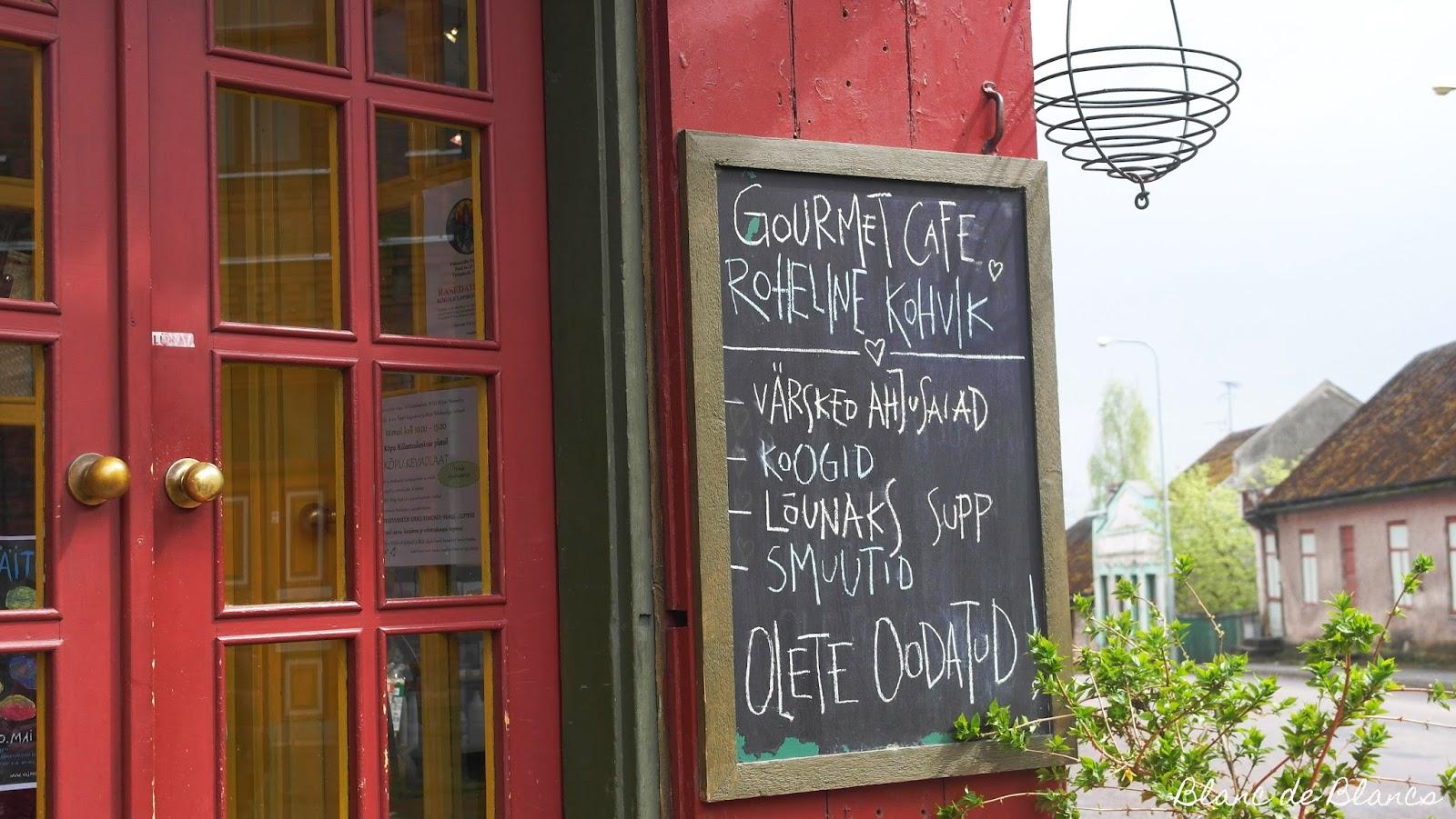 Roheline Kohvik Viljandi - www.blancdeblancs.fi
