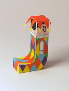 alfabeto em ingles para crianças educação infantil brinquedo de papel montar