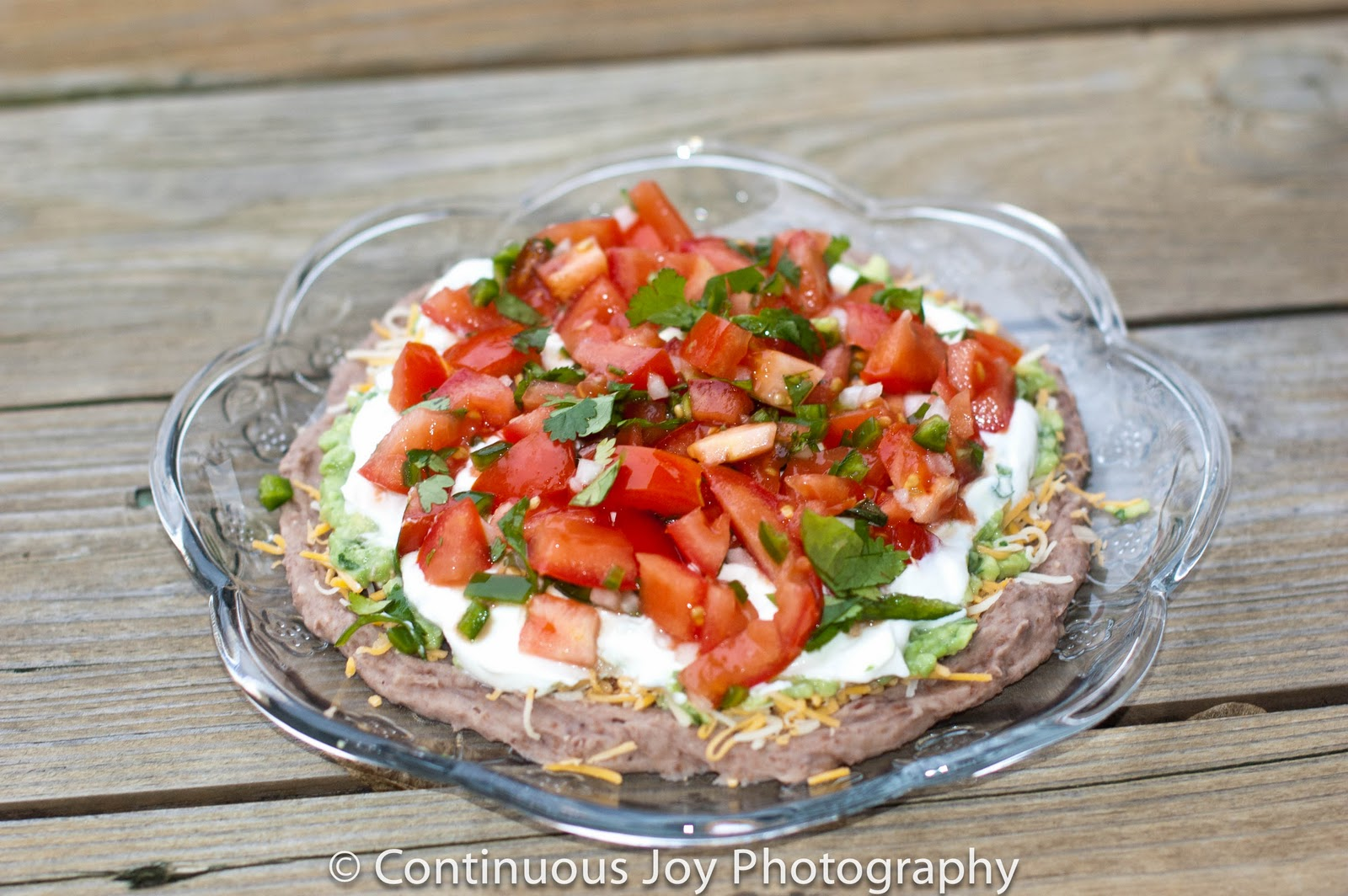 Mexican 5 layer Dip