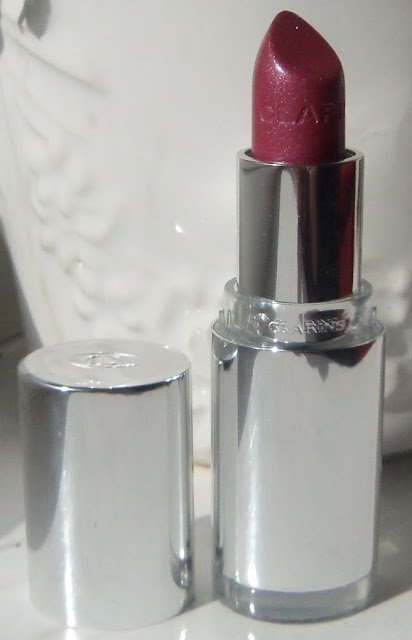 Clarins Jolie Rouge Brilliant Perfect Shine Sheer Lipstick in Sweet Plum