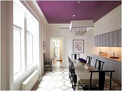 Interior Design Idea For Ideal Ceiling Colors For White and Dark Colored Walls http://homeinteriordesignideas1.blogspot.com/ .