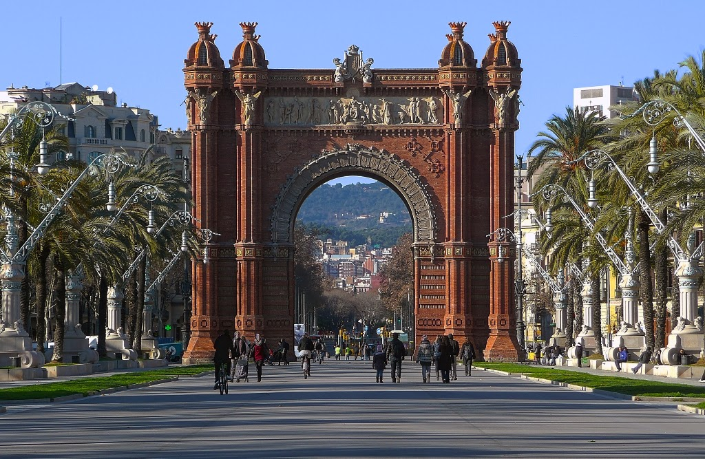 Barcelona, Spain One Of The Best Tourist Destinations ...