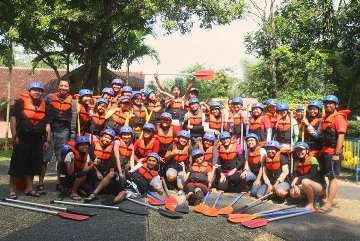 HAVE FUN BY RAFTING