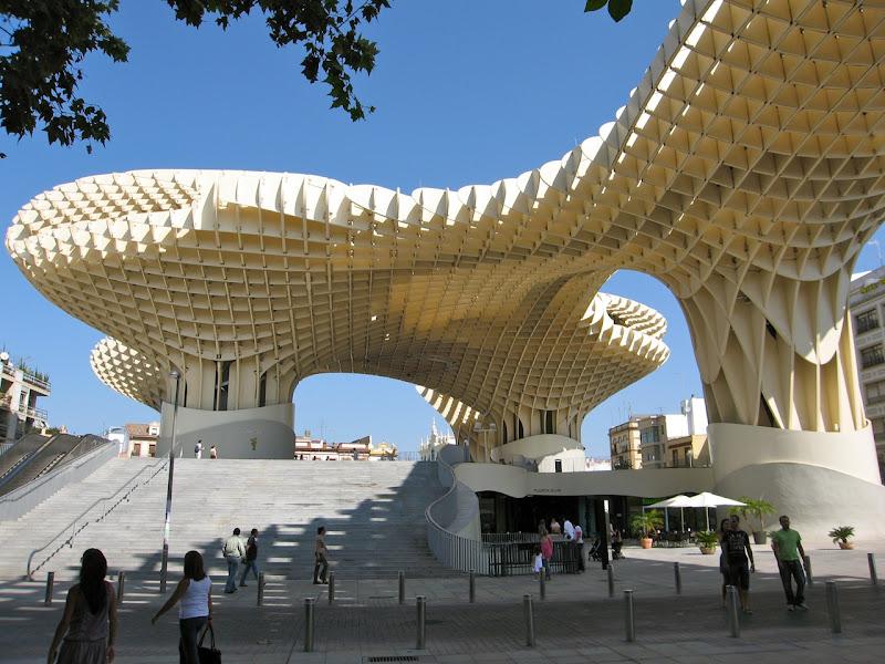 Experimenting in Public: Metropol Parasol, Seville, by Jürgen Mayer H  title=