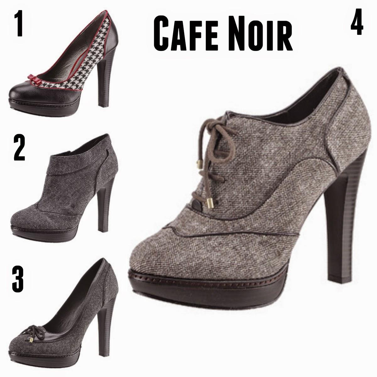 clarks, cafe noir, buffalo londyn