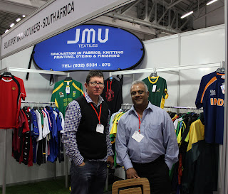 Adrian Rouhy and Vinesh Valjee of Solar Sportswear